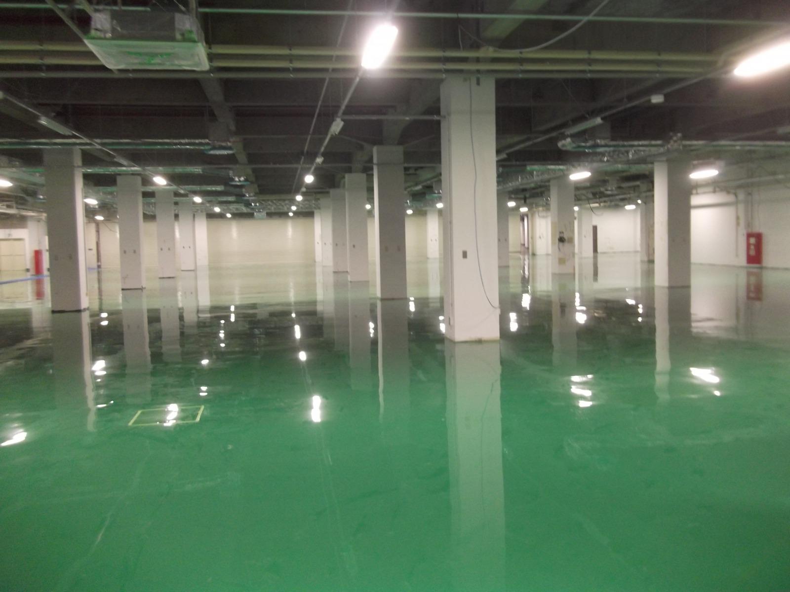 株式会社 日立製作所(情IP)B棟1階塗床工事(神奈川県)