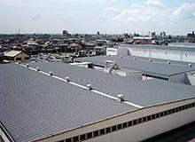 パラサーモシリコン(弱溶剤シリコン樹脂屋根用遮熱塗料)