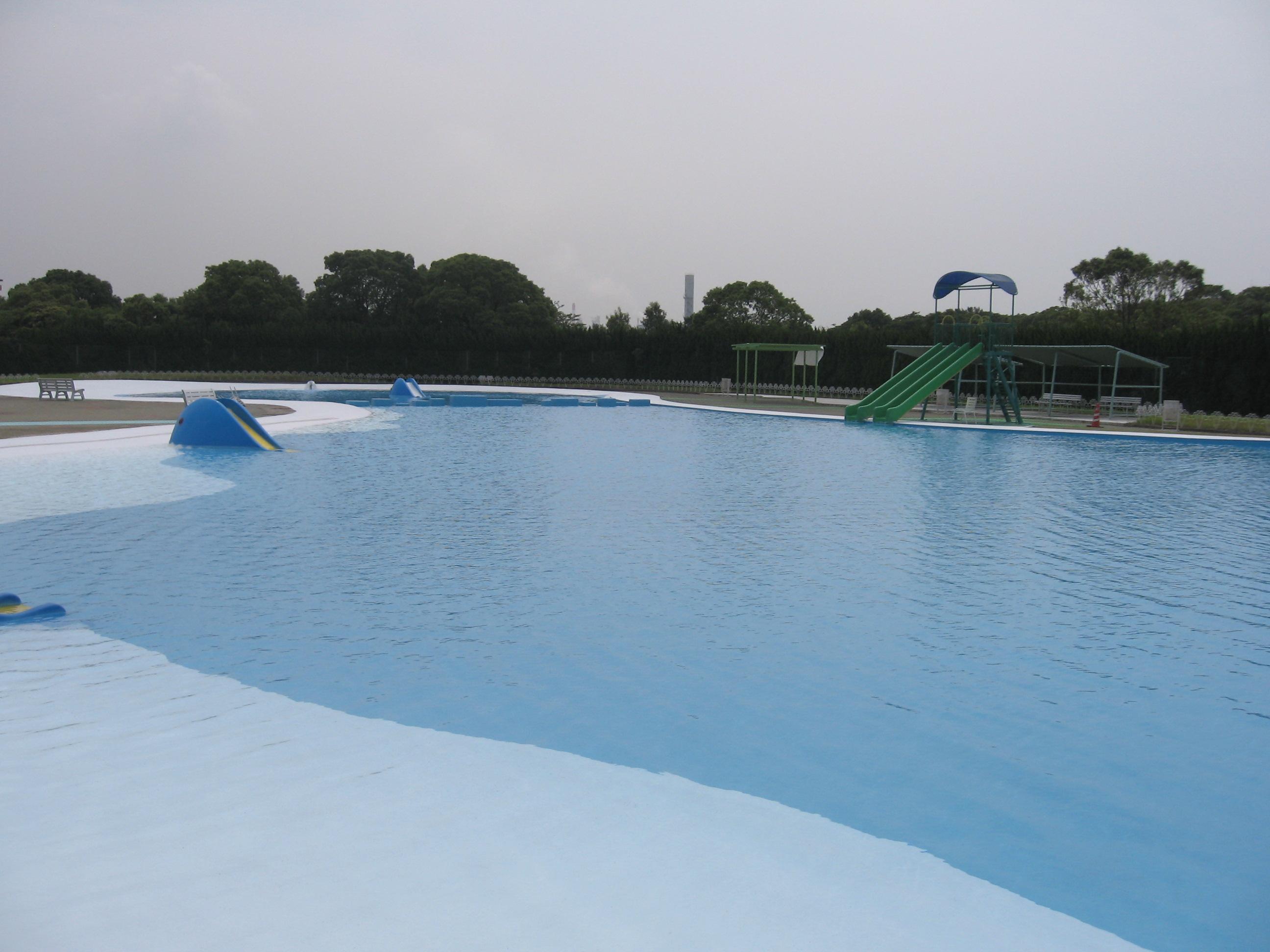 河西公園水泳場塗装他工事(和歌山県)