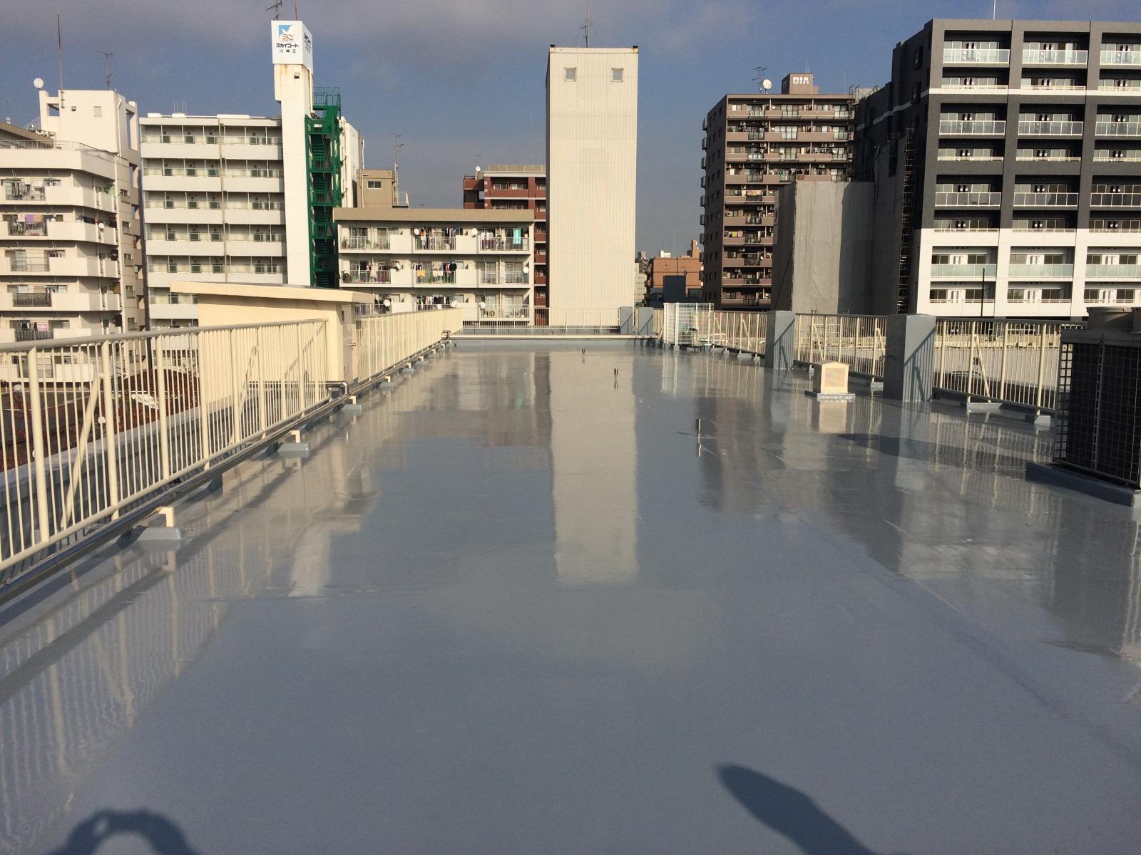 川崎小学校外壁塗装改修その他工事 1期(神奈川県)